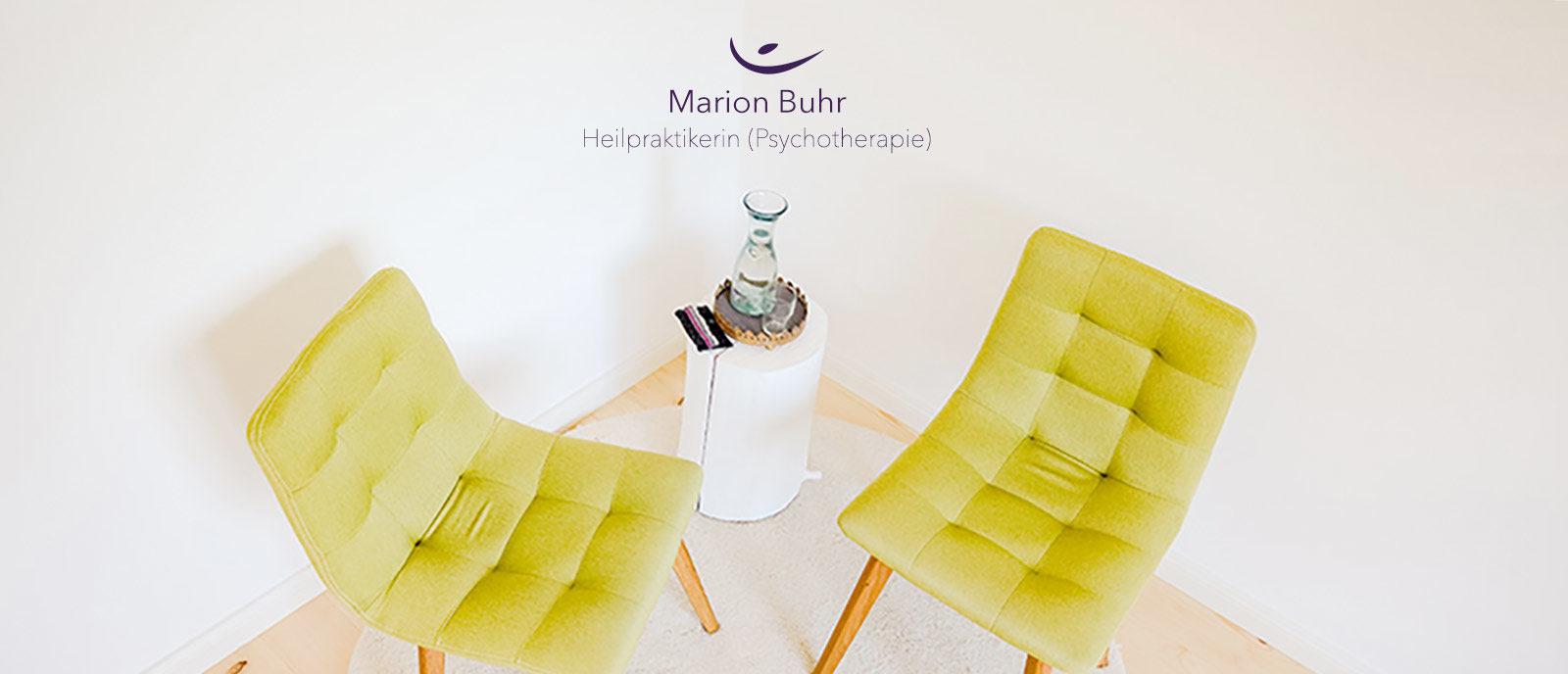 Willkommen bei Marion Buhr - Heilpraktikerin für Psychotherapie (HPG)